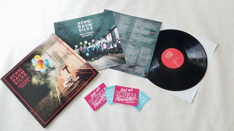 #zweiraumsilke – Zielstrebig Planlos Vinyl